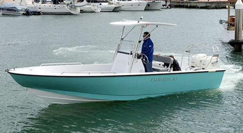 Fusion 21 Fusion Power Boats